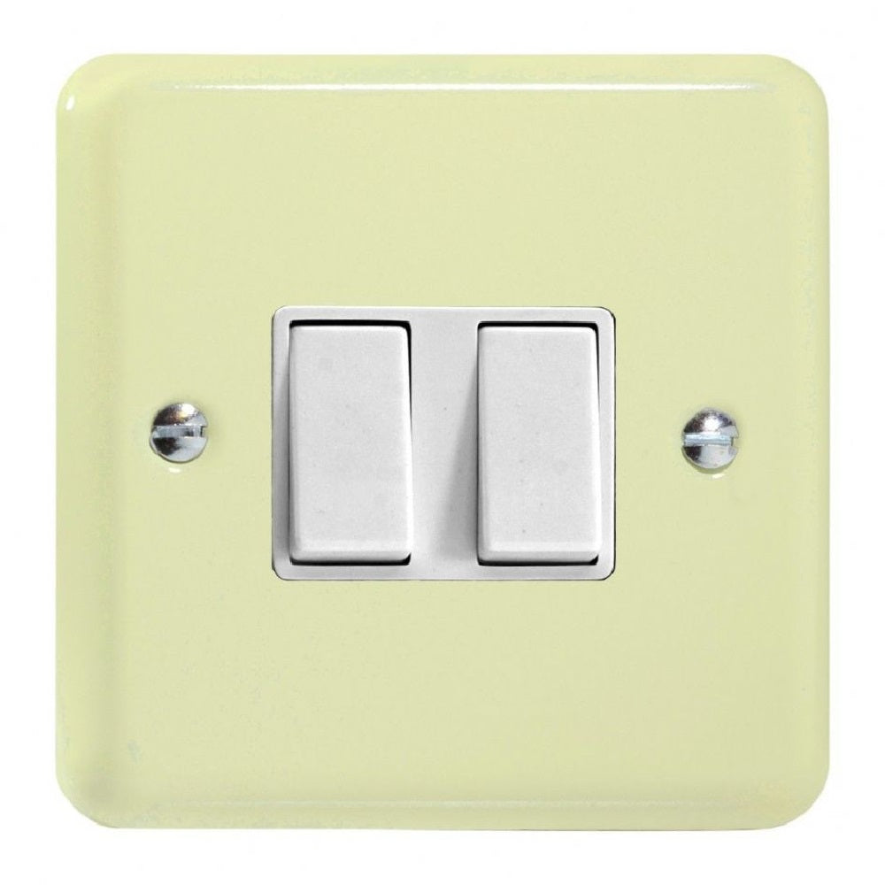 Varilight XY2W.WC | White Chocolate Lily Rocker Switch | XY2WWC