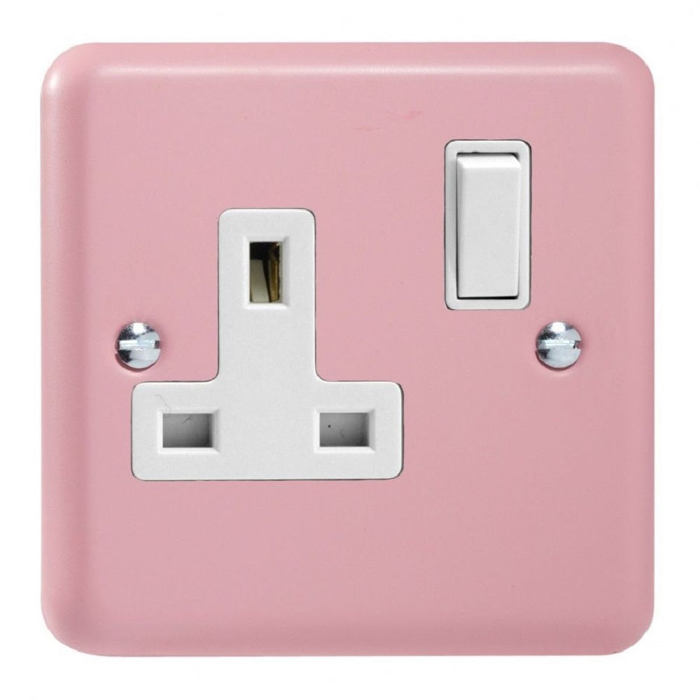 Varilight XY4W.RP | Rose Pink Lily Double Pole Socket | XY4WRP