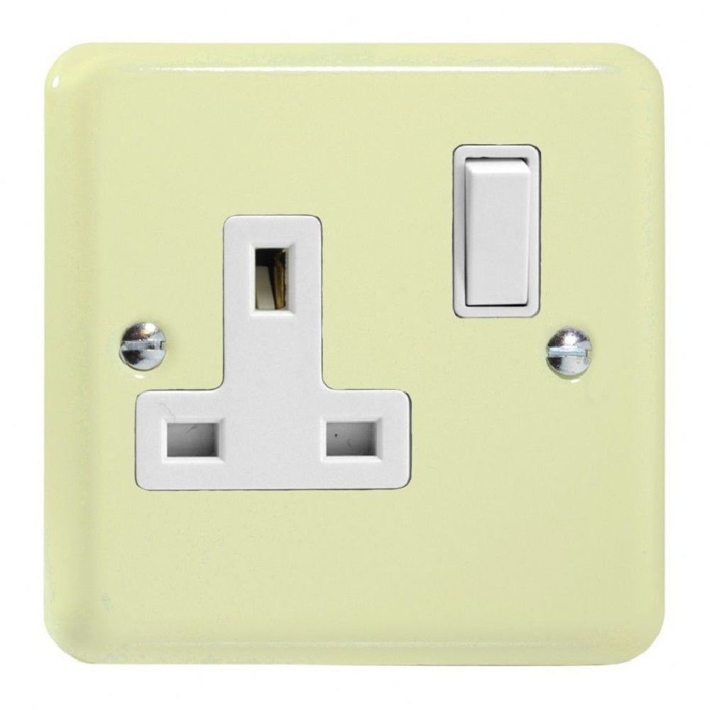 Varilight XY4W.WC | White Chocolate Lily Double Pole Socket | XY4WWC