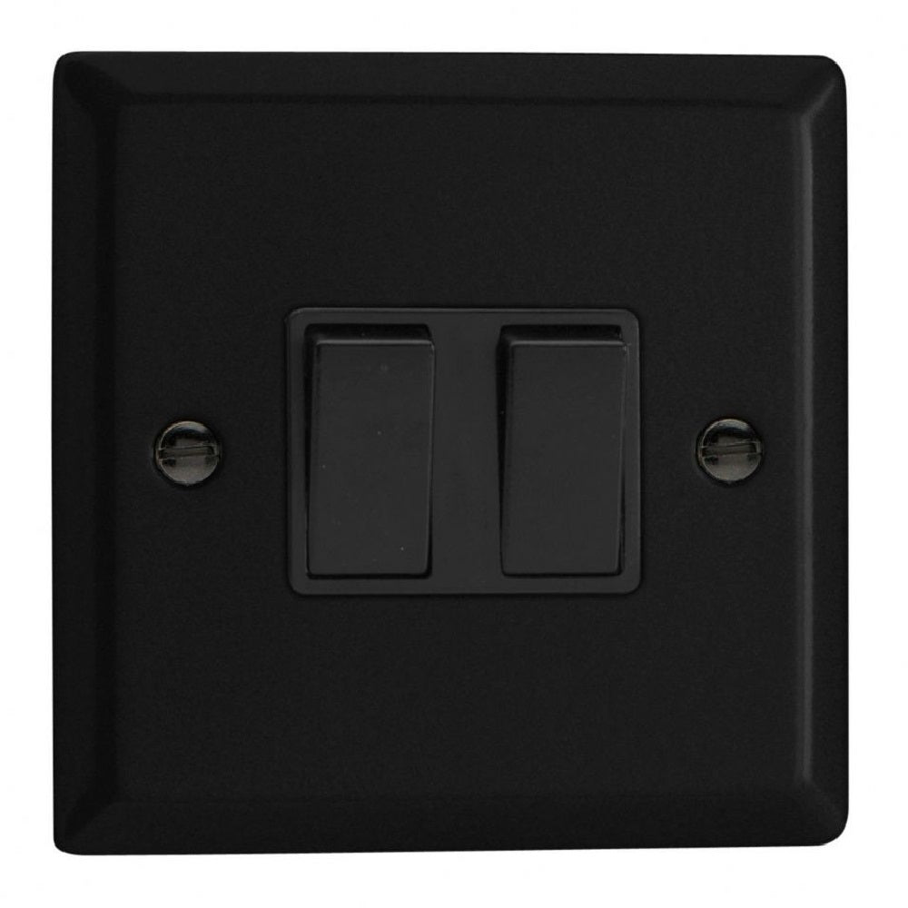 Varilight XY77B.MB | Matt Black Urban Intermediate Switch | XY77BMB
