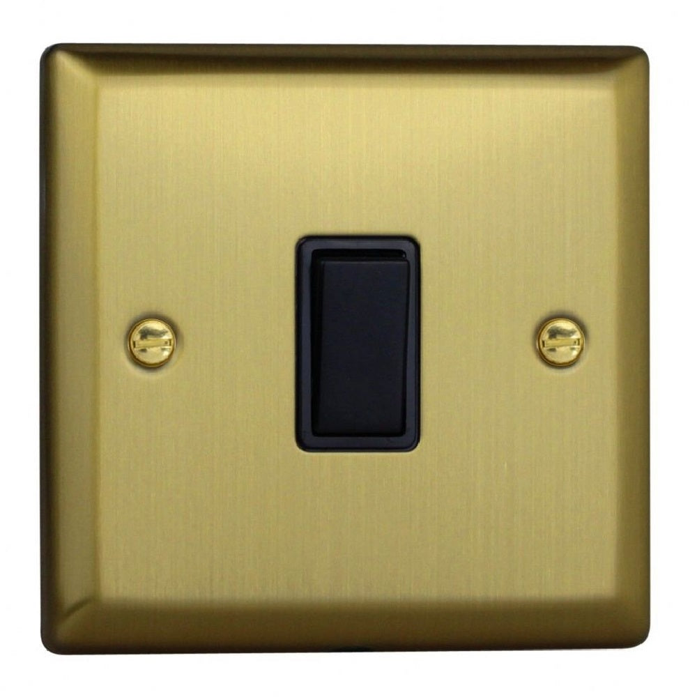 Varilight XY7B.BB | Vintage Brass Urban Intermediate Switch | XY7BBB