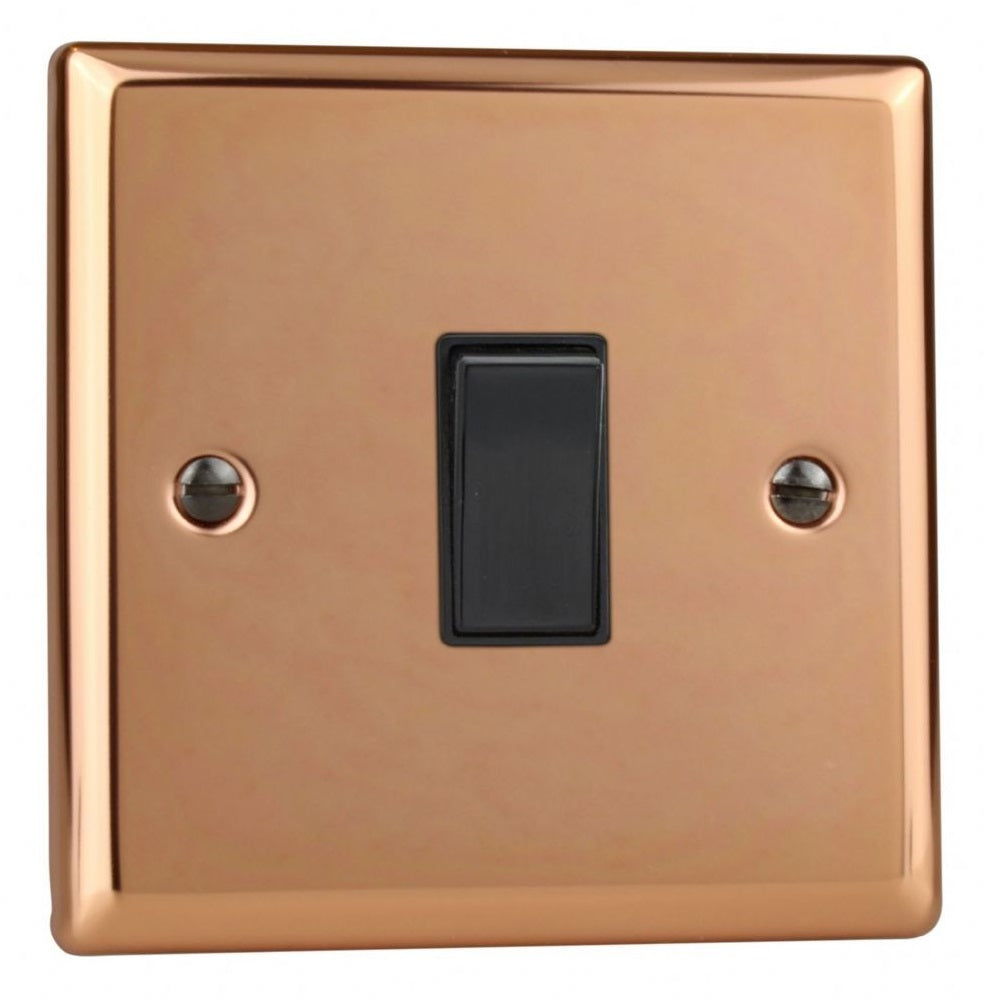 Varilight XY7B.CU | Polished Copper Urban Intermediate Switch | XY7BCU