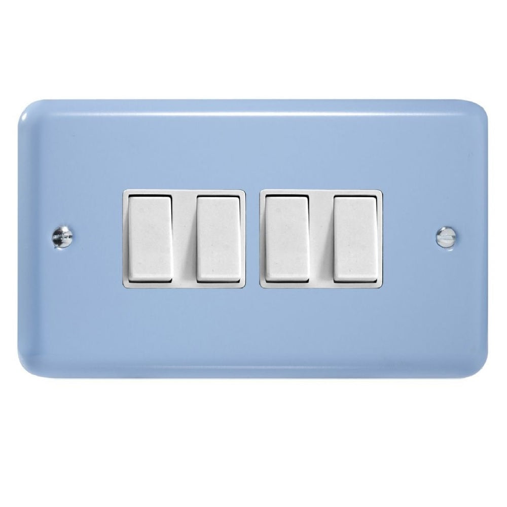 Varilight XY9W.DB | Duck Egg Blue Lily Rocker Switch | XY9WDB