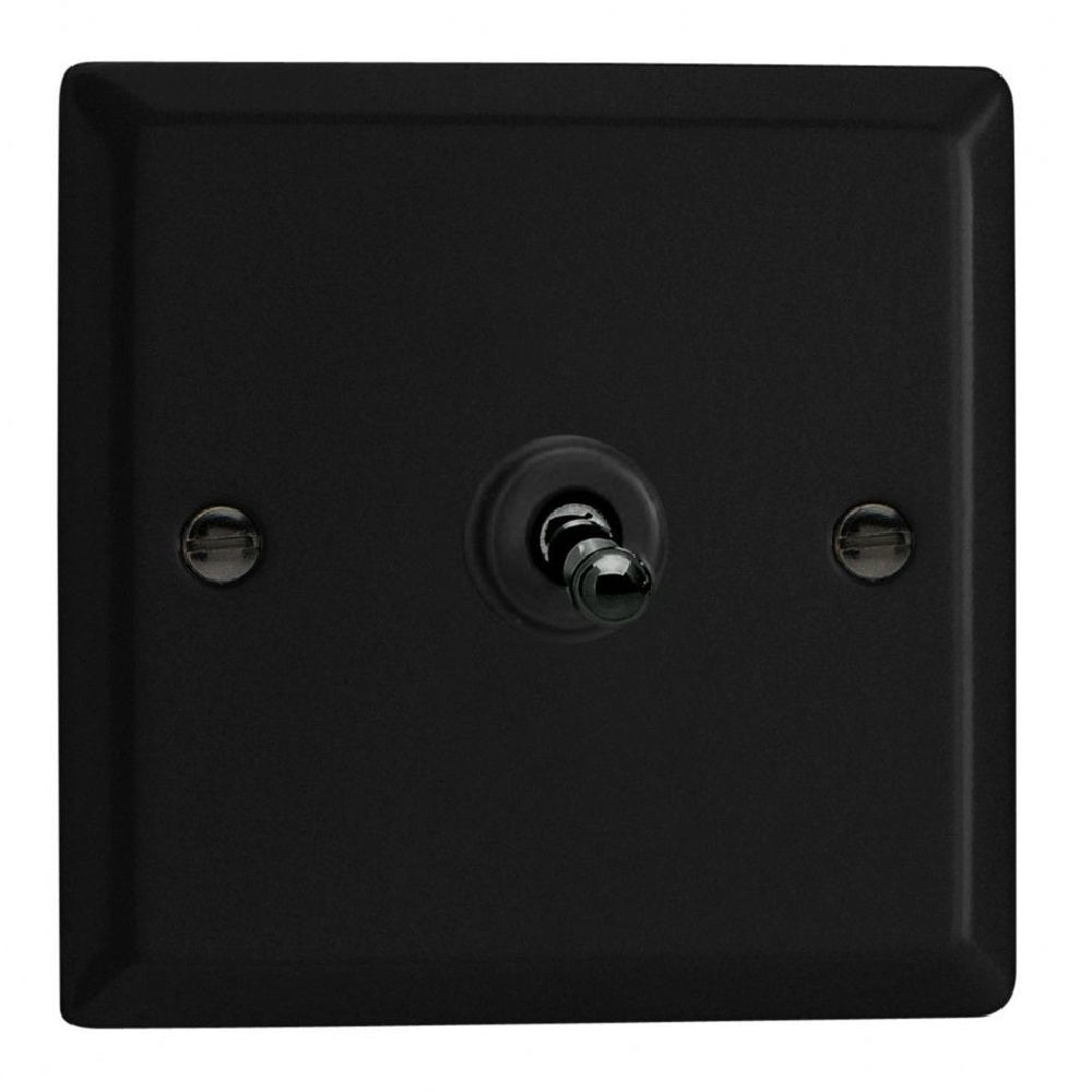 Varilight XYT7.MB | Matt Black Urban Intermediate Switch | XYT7MB