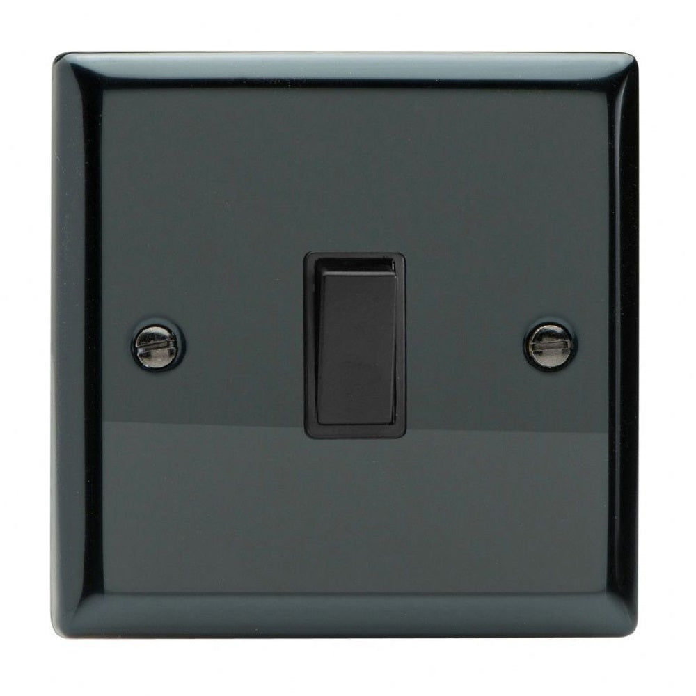 Varilight Xi1B | Iridium Black Classic Rocker Switch