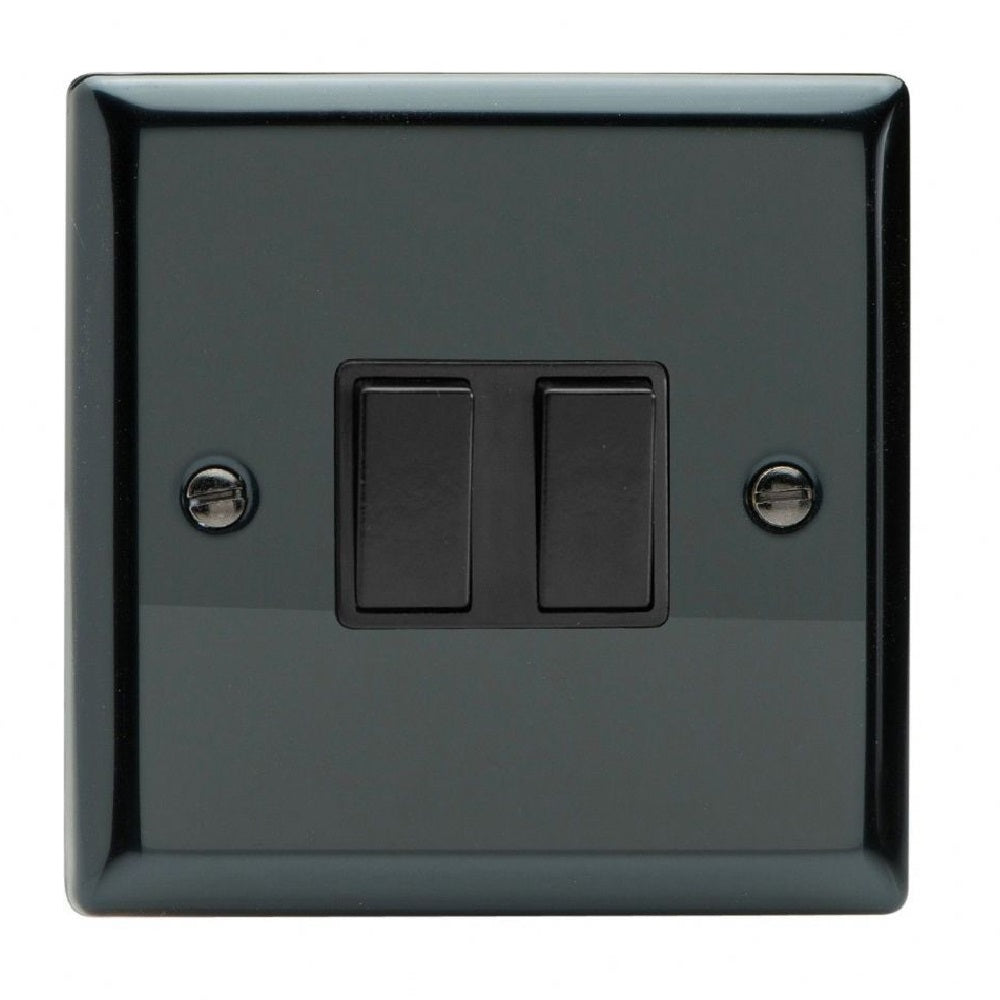 Varilight Xi2B | Iridium Black Classic Rocker Switch