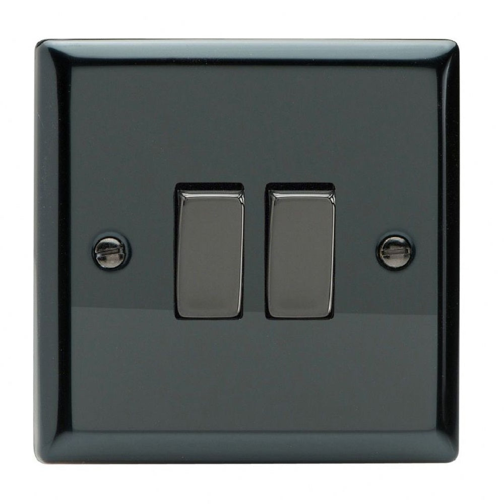 Varilight Xi77D | Iridium Black Classic Intermediate Switch