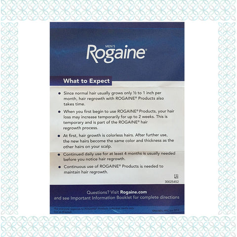 Rogaine Regaine Extra Strength Hair Regrowth Foam For Men Your
