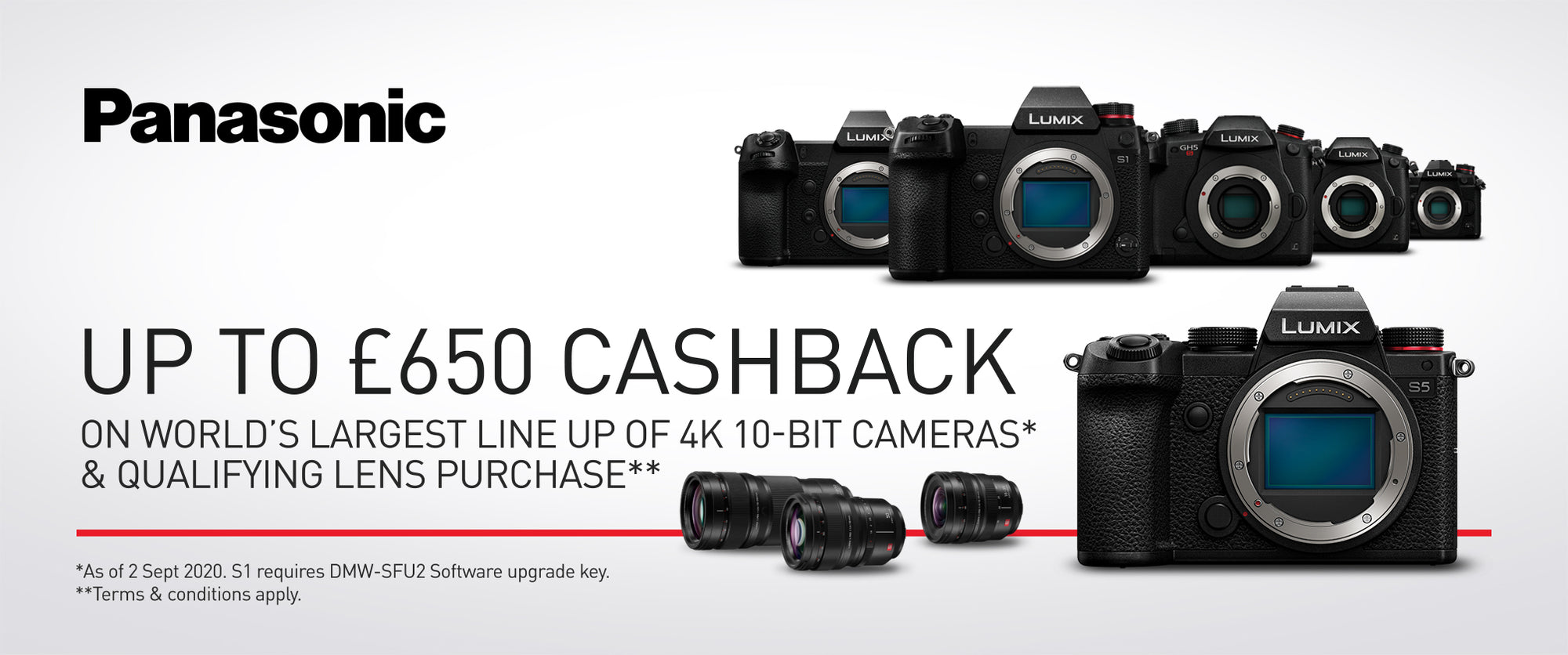 Panasonic Cashback October / November 2020 (G Series)
