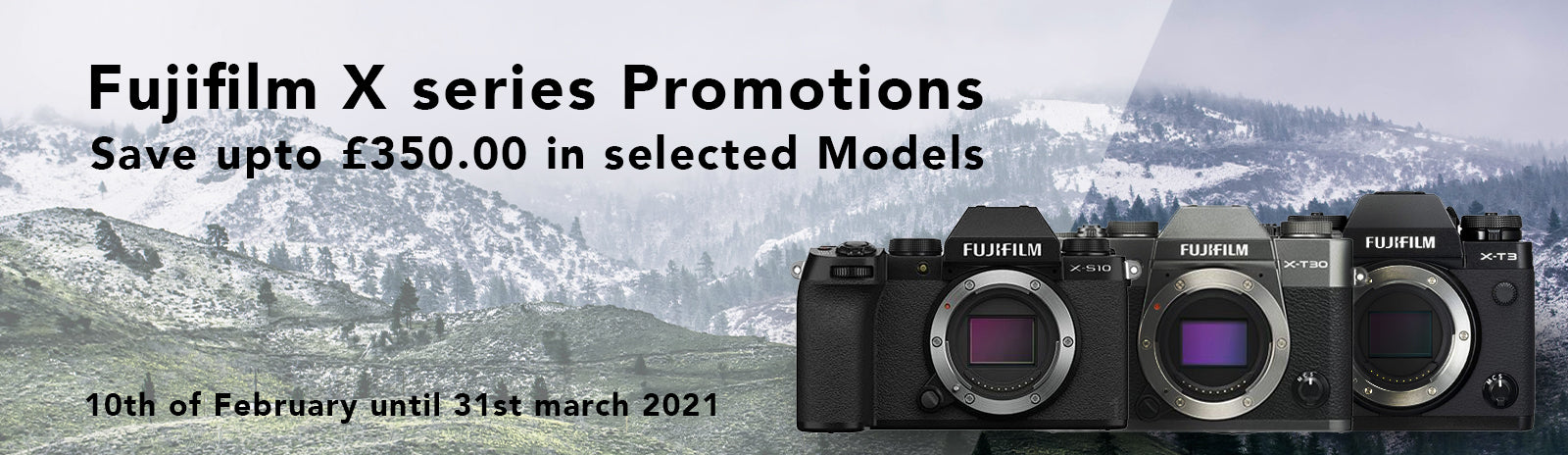 Fujifilm X series Promotions