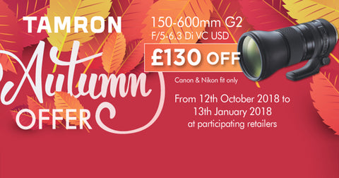 Tamron 150-600mm Autumn Promotion