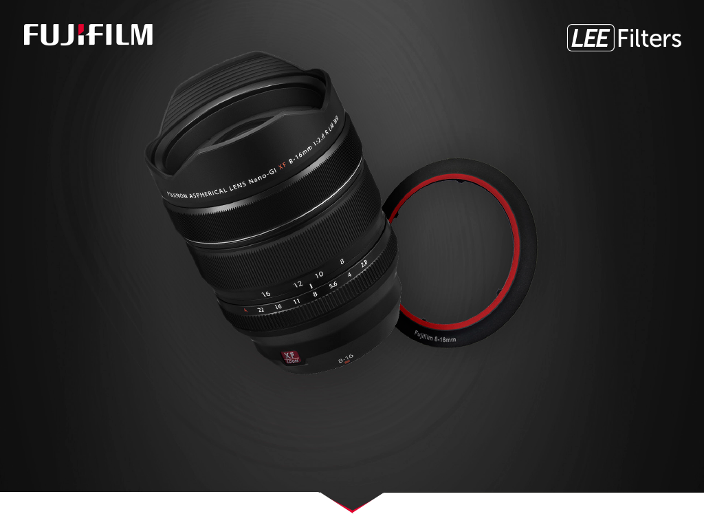 CLAIM A FREE LEE FILTER RING WHEN YOU PURCHASE A FUJIFILM 8-16MM LENS