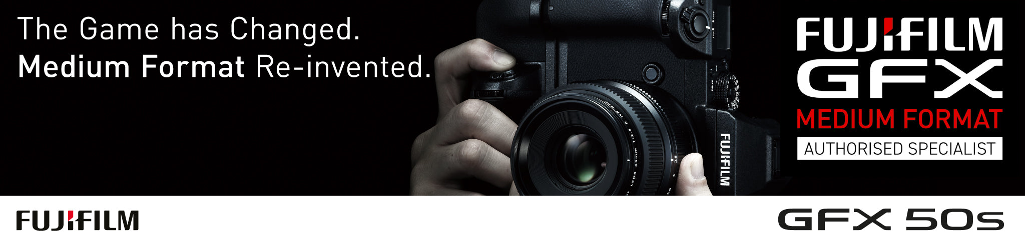 Fujifilm GFX Authorised Stockist