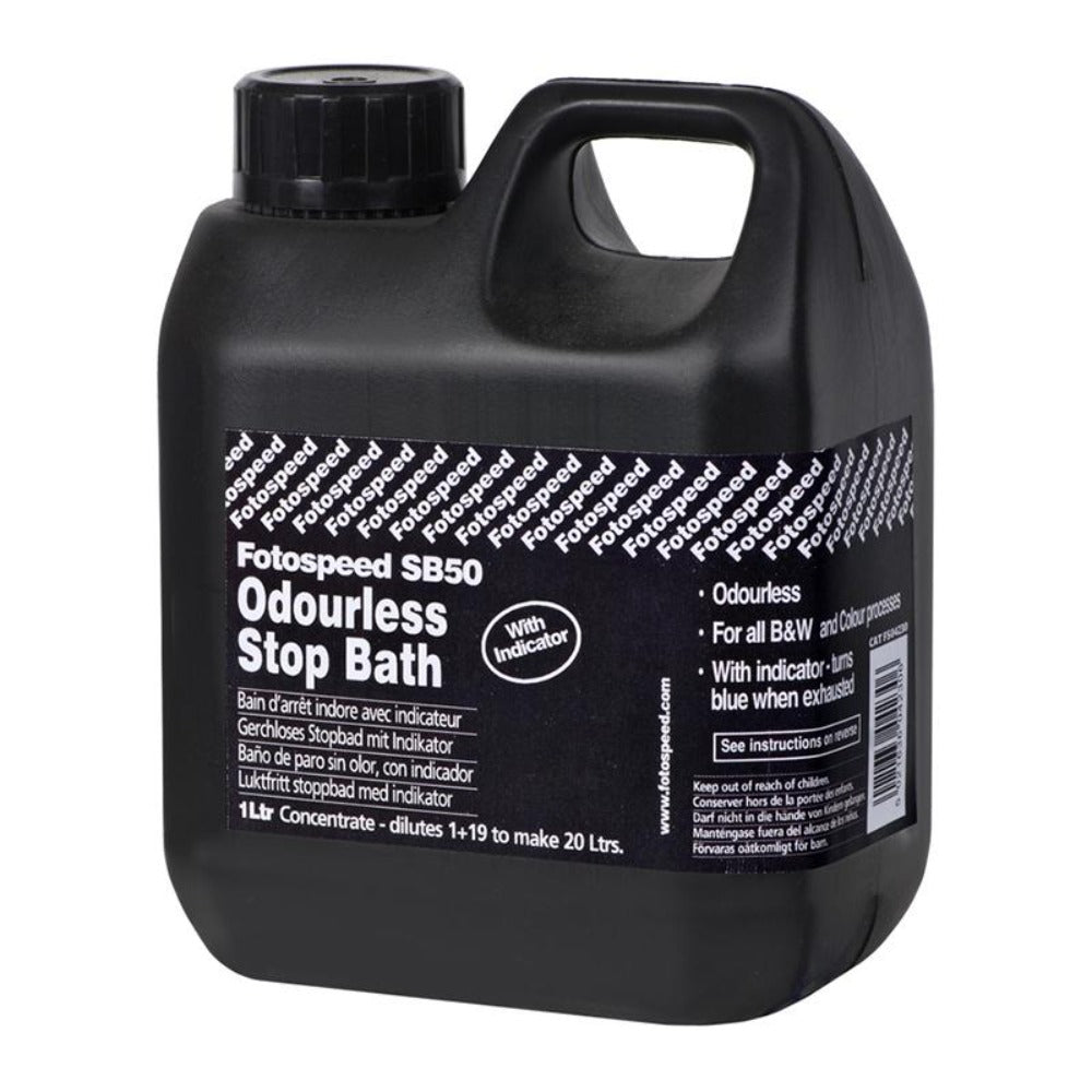 Fotospeed SB-50 Odourless Stop Bath - 1Ltr