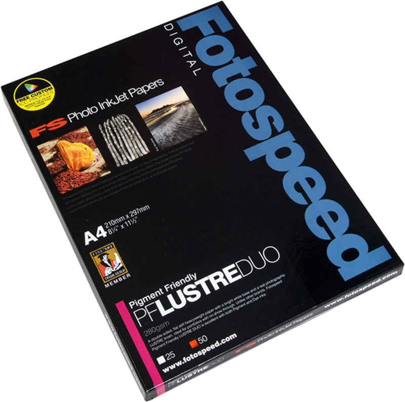 Fotospeed PF Lustre DUO 280 A4 box 25 sheets