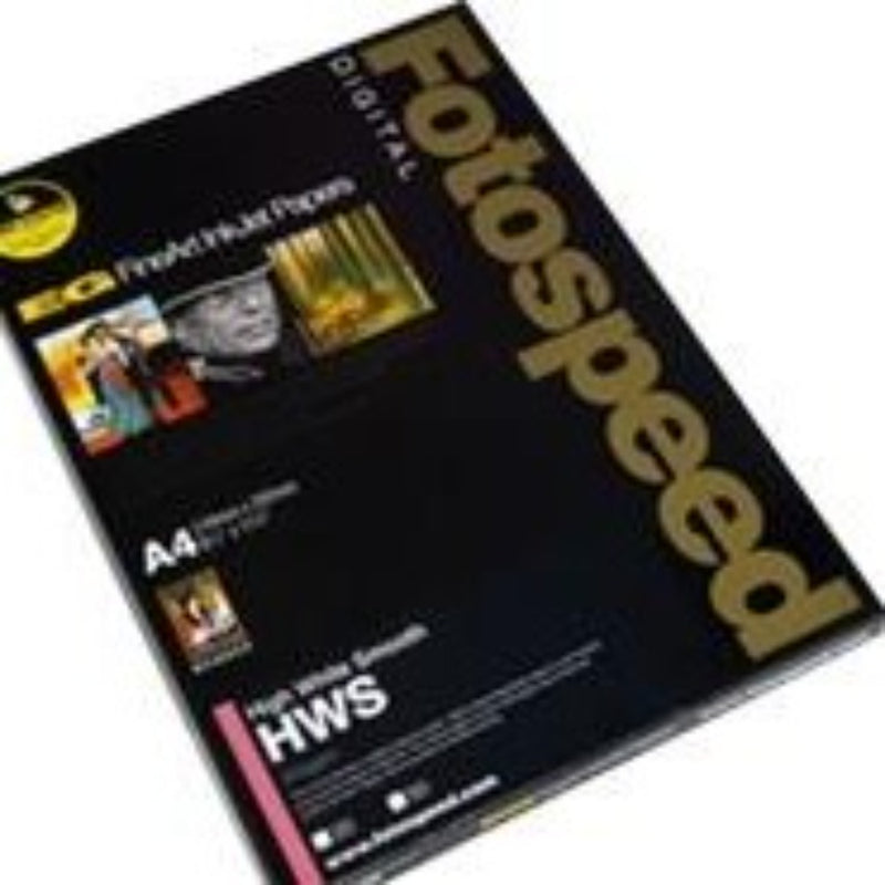 Fotospeed High White Smooth 325gsm A4 25