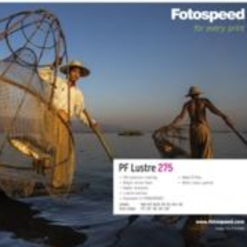 Fotospeed PF Lustre 275 Inkjet Paper - A4 Box of 50 Sheets