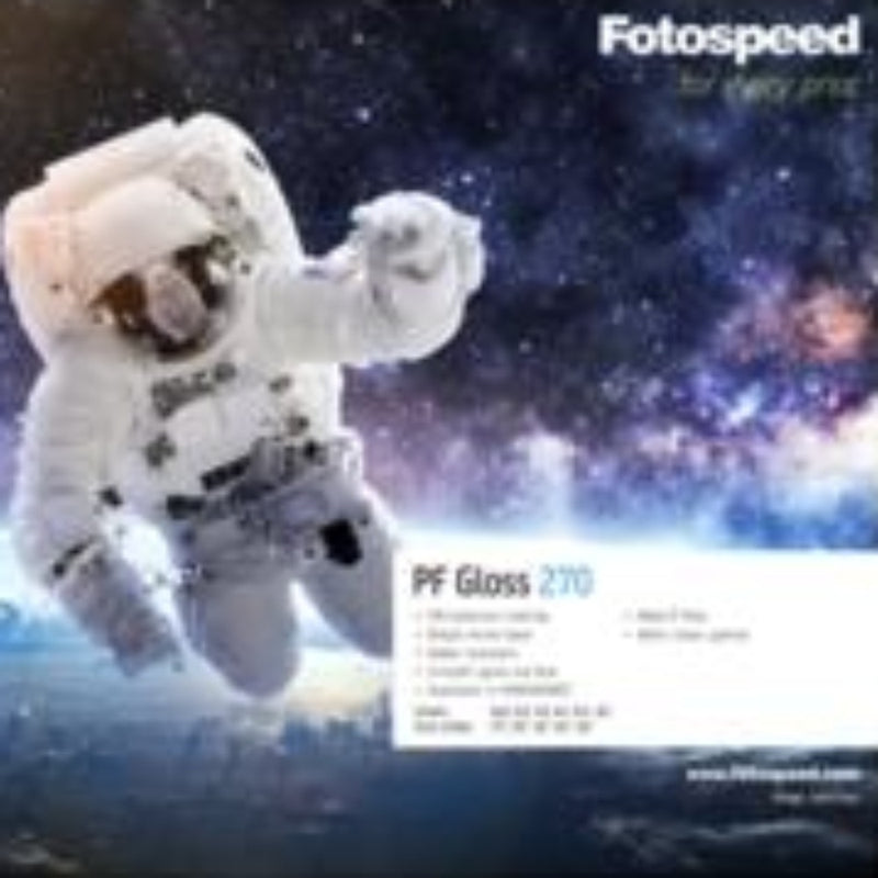 Fotospeed PF Gloss 270 Inkjet Paper - A4 - 50 Sheets