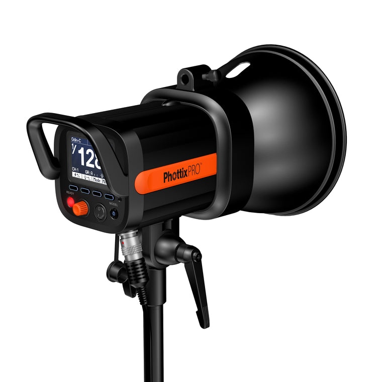 Used Phottix Indra360 TTL Studio Light and Battery Pack Kit