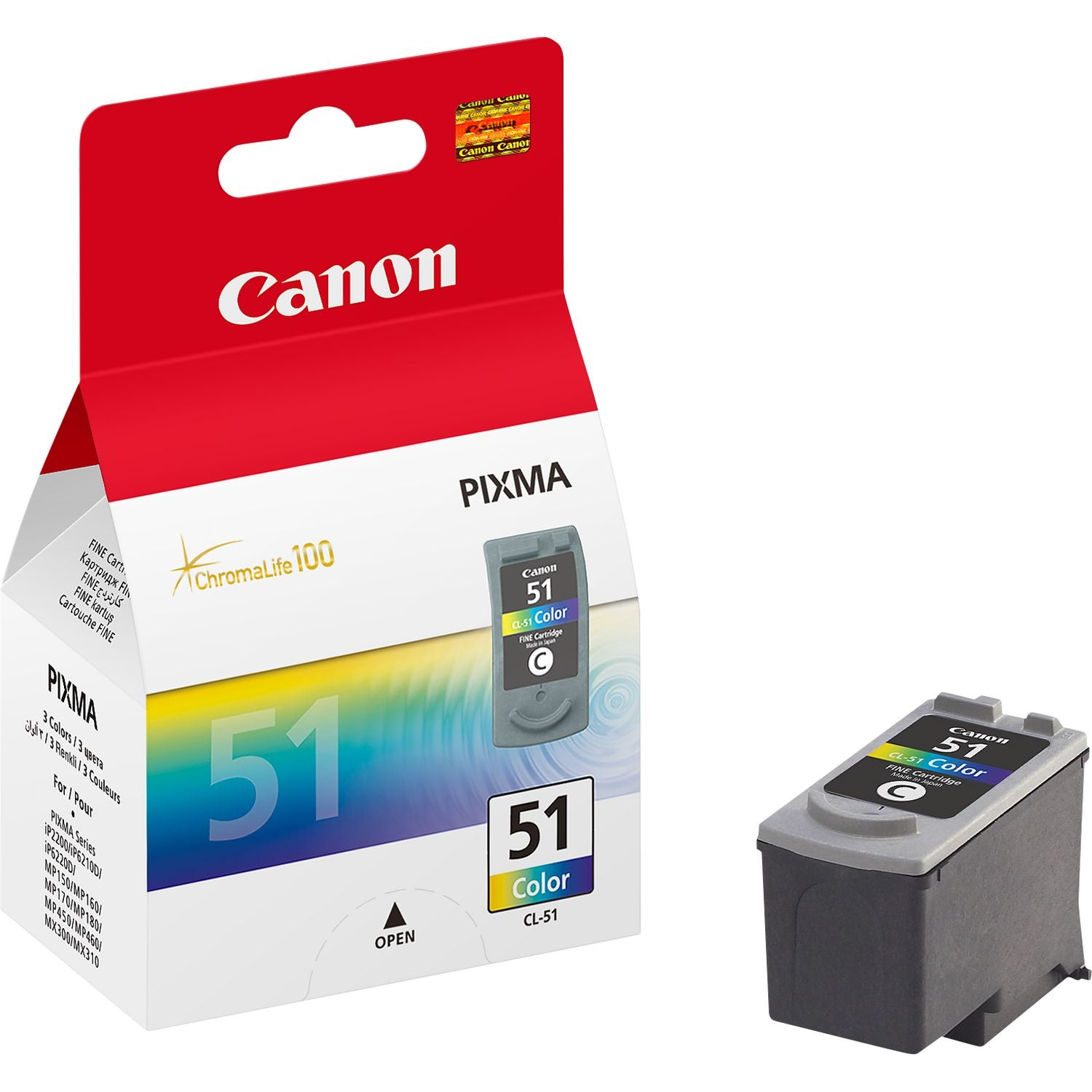Canon CL-51 Ink Colour