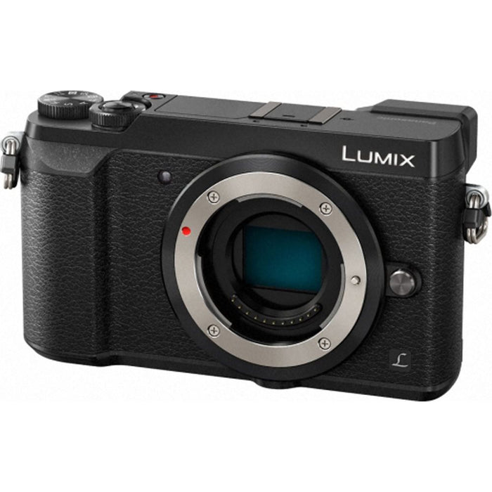 Panasonic Lumix GX80 Digital Camera Body - Black