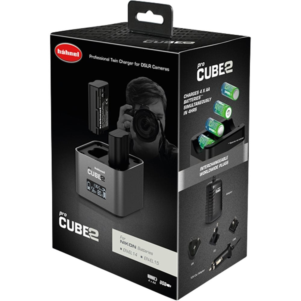 Hahnel ProCube 2 Twin Charger - Nikon