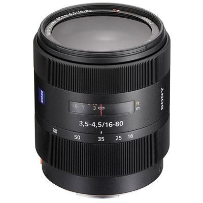 Sony 16-80mm f3.5-4.5 ZA VS T* DT Lens