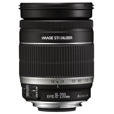 Canon EF-S 18-200mm f3.5-5.6 IS Lens