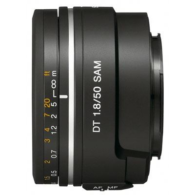 Sony DT 50mm f1.8 SAM Lens