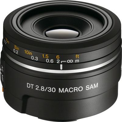 Sony DT 30mm f2.8 SAM Macro Lens