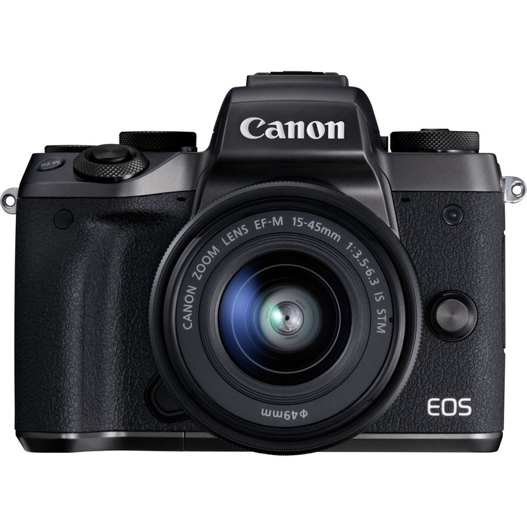 Canon EOS M5  with 15-45mm Lens - EF Adapter Kit