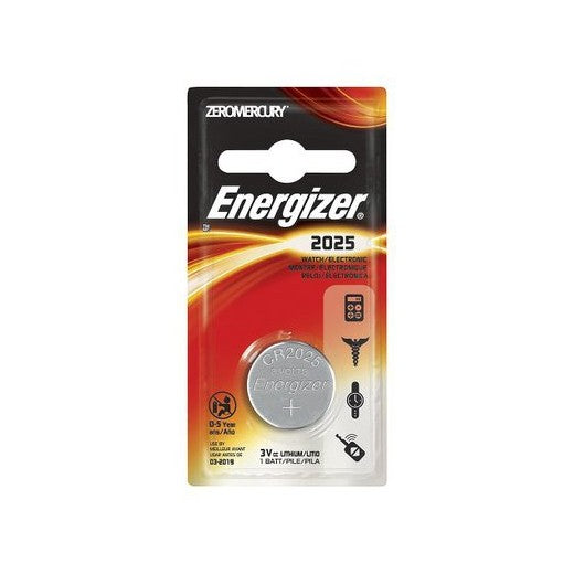 Energizer 2025 3V Button Cell Battery