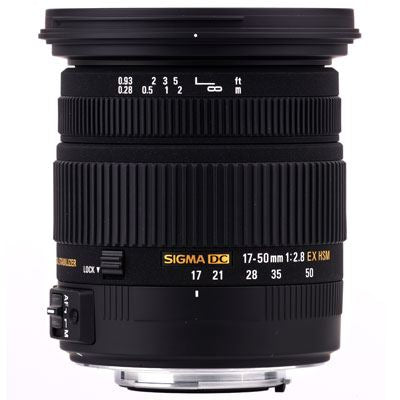 Sigma 17-50mm f2.8 EX DC OS HSM - Canon Fit