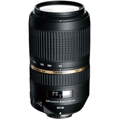 Tamron 70-300mm f4-5.6 SP Di VC USD Lens - Canon Fit