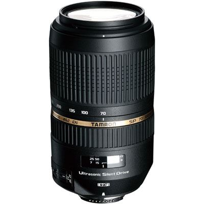 Tamron 70-300mm f4-5.6 SP Di VC USD Lens - Nikon Fit