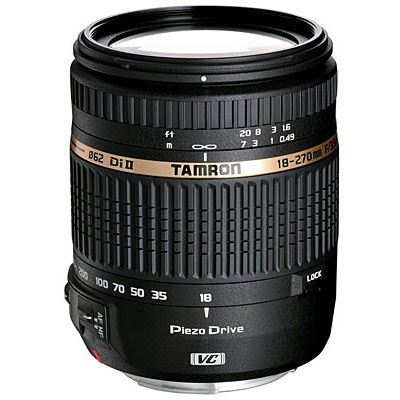 DISCONTINUED - Tamron 18-270mm f3.5-6.3 Di II VC PZD - Nikon Fit