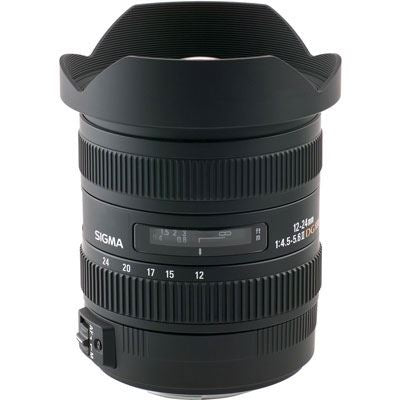 Sigma 12-24mm f/4.5-5.6 II DG HSM (Nikon fit)