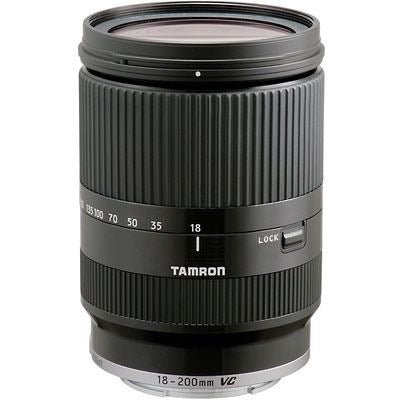 Tamron 18-200mm f3.5-6.3 Di-III VC Black Lens - Canon M-Mount Fit