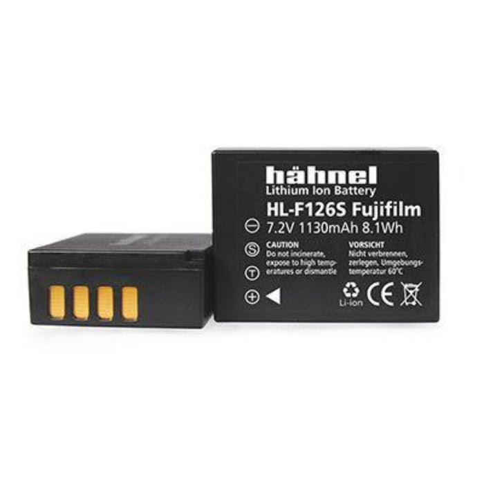 Hahnel HL-F126S 7.2v 1070mAh - Fujifilm NP-W126S Replacement Battery