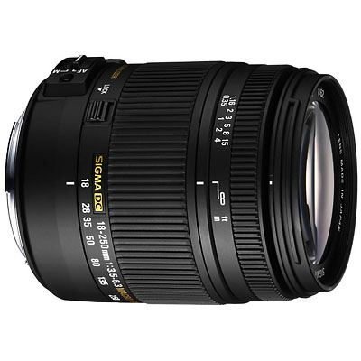 Sigma 18-250mm f3.5-6.3 DC Macro OS HSM - Canon fit