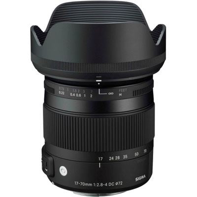 Sigma 17-70mm f2.8-4 DC Macro OS HSM Lens - Canon EF Mount