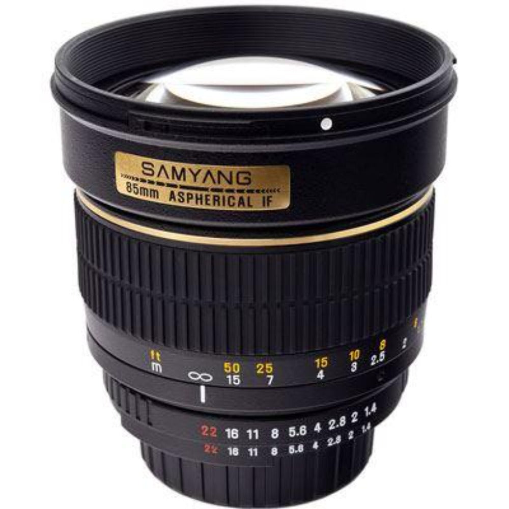 Samyang 85mm f1.4 IF MC Lens - Sony A-mount Fit
