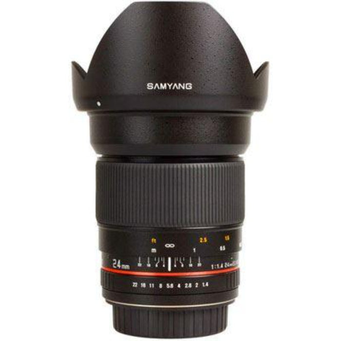 Samyang 24mm f1.4 ED AS IF UMC Lens - Canon Fit