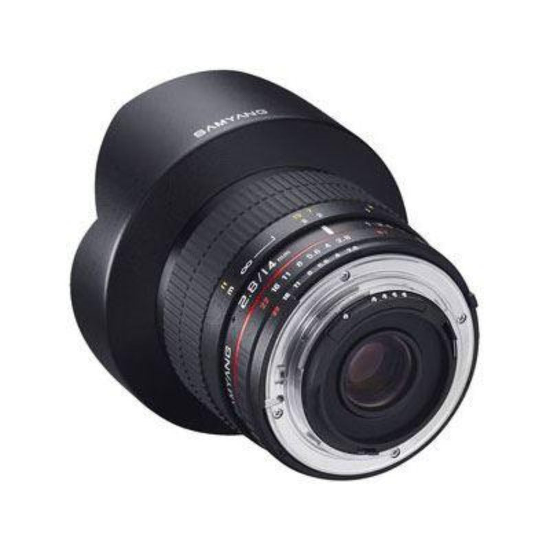 Samyang MF 14mm f2.8 ED AS IF UMC Lens - Nikon F Mount