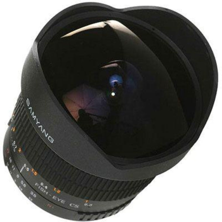 Samyang 8mm f3.5 Aspherical IF MC Fisheye CS Lens - Nikon AE Fit