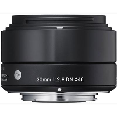 Sigma 30mm f2.8 DN Lens - Sony Fit - Black