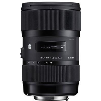 Sigma 18-35mm f1.8 DC HSM Lens - Canon EF Mount