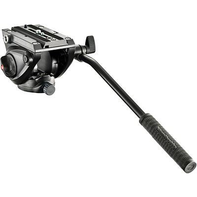 Manfrotto 500 Pro Fluid Video Head with Flat Base