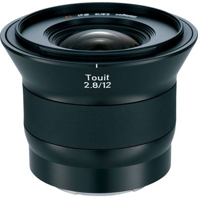 Zeiss 12mm f2.8 E Touit Lens - Fujifilm X-Mount Fit