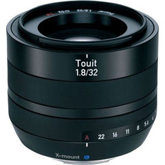Zeiss 32mm f1.8 E Touit Lens - Fujifilm X-Mount Fit